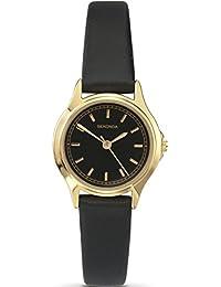 Sekonda Classic 4141 Black Strap Ladies Watch