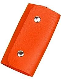 Tenflyer Cuero de la PU llavero de Coches Key Holder Cubierta de la Carpeta del bolso del Casó