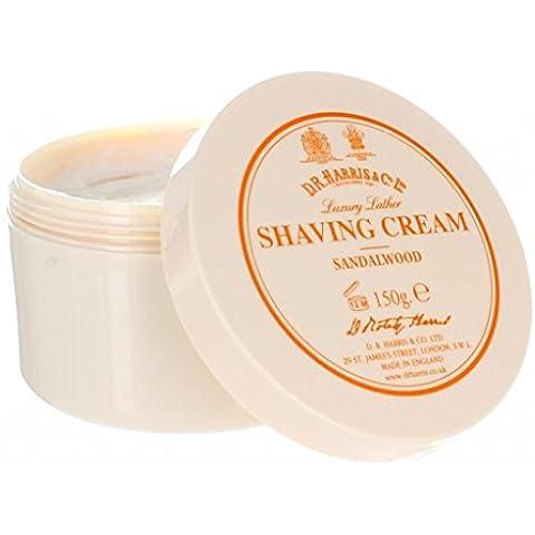 D.R.Harris & Co Sandalwood Shaving Cream Tub 150g by D R Harris