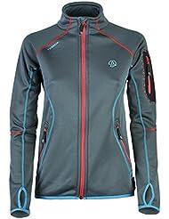 Chaqueta al aire libre chaqueta para mujer Ternua Gyala/1642474-5775 para mujer, color - gris, tamaño small