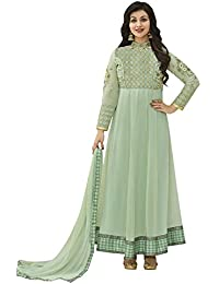 Vivaa Fashion Blue Embroidered Georgette Designer Anarkali Suit VF24536