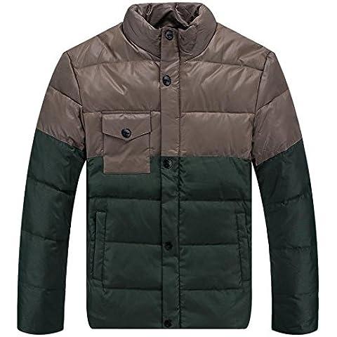 XYXY Piumino Regolare imbottito cappotto giù giacca