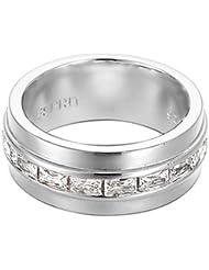 Esprit - ESRG91739A - Dynasty - Bague Femme - Argent 925/1000 8.4 gr - Cristal - Oxyde de zirconium - Blanc