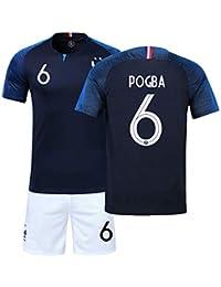 a0ab262c8 YXST Campeón Camiseta de Fútbol Uniforme de 2018 Copa Mundial de Dos  Estrellas para Adultos y