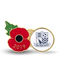 The Royal British Legion Southend Poppy Football Pin 2019