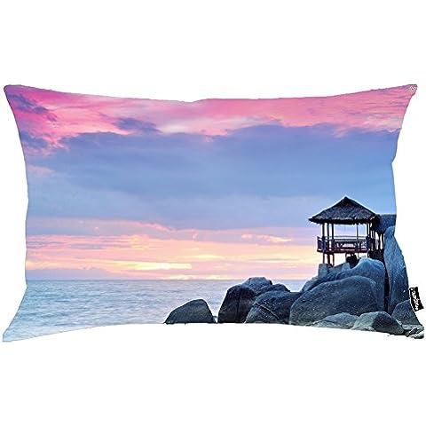 i FaMuRay Purple Sky Over The Rocky Shore Theme Federa