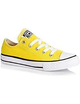 d8db3e0cee755 Converse Chuck Taylor All Star Junior Fresh Yellow Textile Trainers