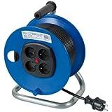Ribitech - preeb25315 - Enrouleur électrique 4 prises 25 mètres