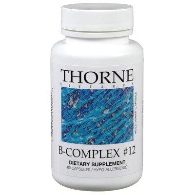 E Thorne Vitamin (B-Complex #12 26 g 60 Kps von Thorne Research)
