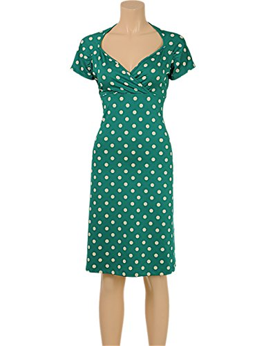 King Louie - Robe - Femme Vert - Oil Green