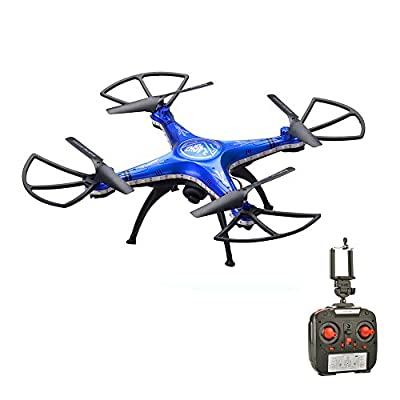 RC Quadcopter, Rcool Waterproof D99A WIFI FPV 2MP Camera 2.4G 4CH 6Axis Gyro Remote Control Quadcopter Drone Airplane