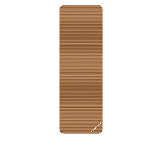 Trendy 1016627 ProfiGymMat 180 mit Ösen 1,0 cm, Braun