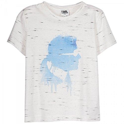 Karl Lagerfeld - T-Shirt Blanc - 4 Ans, Blanc