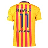 2015-16 Barcelona Away Shirt (Neymar Jr 11)