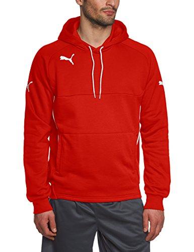 PUMA Kinder Sweatshirt Hoody, Rot (Red/White), 116, 653979 01 Kind Kinder Sweatshirt