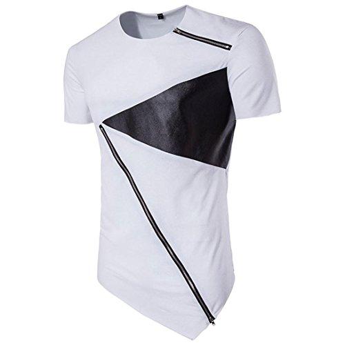 T-Shirt Sweatshirt Slim Fit (Herren-pullover Alpaka-wolle)