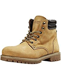 JACK & JONES Jfwstoke Nubuck Boot Honey, Cargadores Clásicos para Hombre