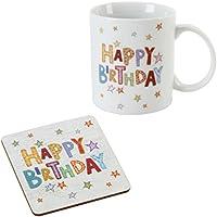 Blue Eyed Sun Gorgeous Mug & Coaster Set Happy Birthday