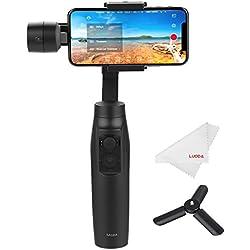 MOZA Mini-Mi Estabilizador de 3 Ejes para Teléfono Móvil Smartphone Gimbal Portátil para Smartphone como IPhone, Samsung, Huawei y GoPro hasta 300g
