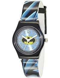 Batman BT52800-313 - Reloj analógico de cuarzo para niño, correa de plástico bicolor