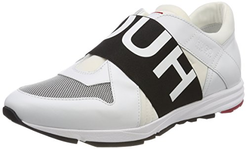 HUGO Damen Uptown Asya-l Slip On Sneaker Weiß (White 100)