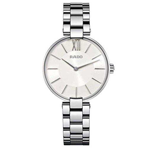 RADO COUPOLE Damen-Armbanduhr 32MM Armband Edelstahl + GEHÄUSE Quarz R22850013