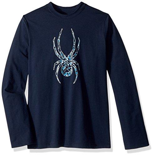 Spyder Boy 's Limitless Long Sleeve Shirt, Jungen, Frontier/Bug (Bugs Boys Spyder)