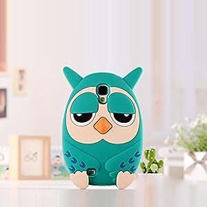 Cute Cartoon Owl Shape Soft Silicone Back Case Cover For Samsung Galaxy S4 I9500