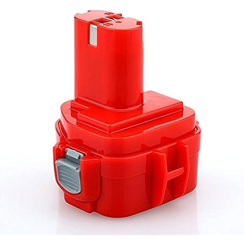 Dtk® Accessori per utensili elettrici Pacchi batterie Batteria per Makita 1222 1220 1200 192598-2 Pod Style 12v 2000mAh
