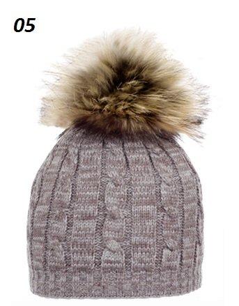 Karbaro - Ensemble bonnet, écharpe et gants - Femme Marron