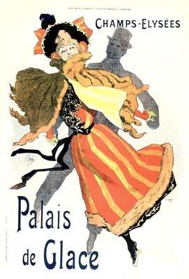 ChéretJules 1896 Vintage French Advertising - Mouse Mat Retro Art 19cms x 25cms