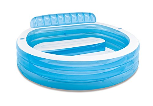 Intex 57190NP - Piscina hinchable con sillón