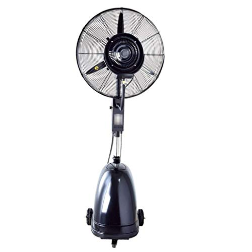 Betty Industrieventilator Bodenventilator Heben Schwingen Kühlwasserspray Multifunktionshoch 3-Gang 10-Stunden-Kapazität 42 Liter Standventilator, Lüfter leise (Size : 65cm) (Lasko-fan Motor)