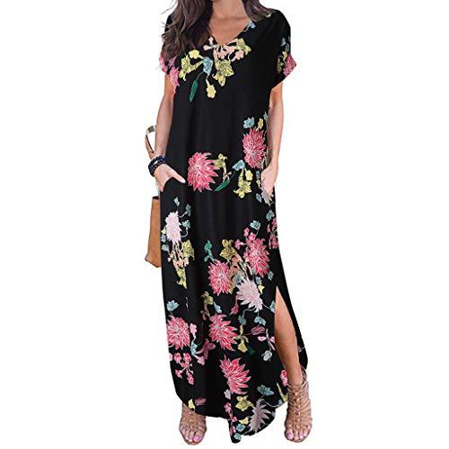 Sommerkleid Damen Partykleid Lang Chiffon High Waist Striped Sleeveless Beach Kleid Elegant - Striped Bustier