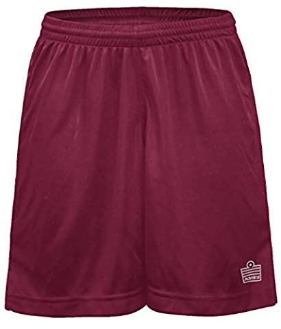 Admiral Club Ready-to-Play Women's Soccer Shorts, Maroon/White,