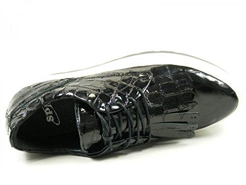SPM 62126551 Manga Chaussures Derby femme Schwarz