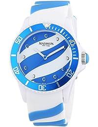 MADISON NEW YORK Unisex-Armbanduhr Candy Time Lollipop Analog Quarz Silikon U4620-06