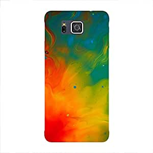 Back cover for Samsung Galaxy Alpha Colourfull Life