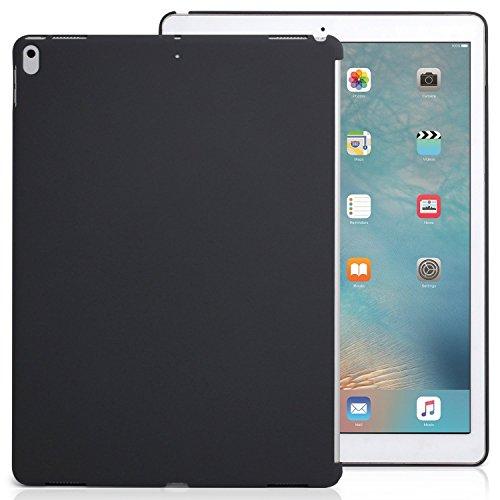 KHOMO iPad Pro 12.9 (2017 und 2015) Rückseite Abdeckung Case Hülle Schutzhülle Kompatibel mit Smart Cover und Tastatur - Dunkelgrau - Ipad Das Für Kunststoff-abdeckung