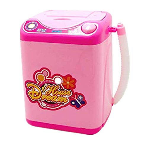 Dtuta Pink Makeup Tool Washing Machine Makeup Cleaning Tool + Puff Makeup Brush Clean and Sterile More Reliable Lightweight and Easy to Use