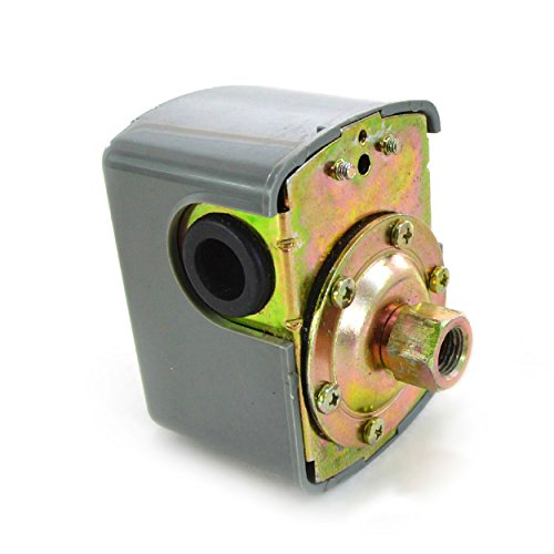 Kreiselpumpe 1300 Watt 6000 L/h 5,5 bar mit Druckschalter - 2