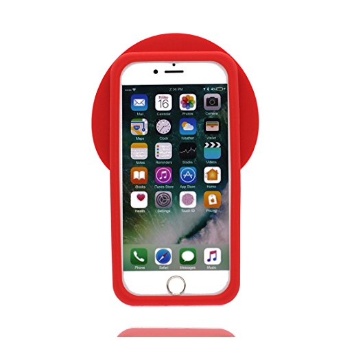 iPhone 8 Copertura,iPhone 8 Custodia,3D Cartoon anatra Pelle morbida in gomma siliconica per la copertura posteriore della copertina Case cover per iPhone 8 4.7inch,nero ## 2