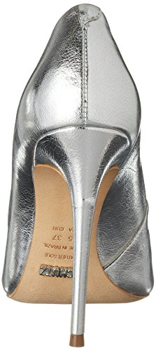 Schutz Damen Women Shoes Pumps Silber (Prata)