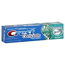 Crest Complete Whitening Plus Scope Minty Fresh Toothpaste 4.4 Oz
