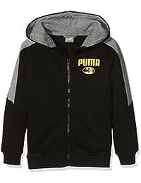 Puma-Chaqueta con capucha para niño, diseño de Batman 8 años, color negro talla (128)