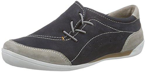 Marc Shoes Katja, Mocassins femme Bleu - Blau (marine-grey 786)