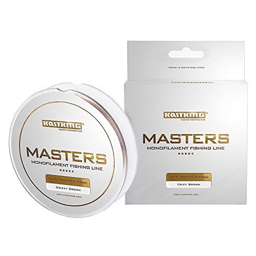 KastKing Masters Tournament Grade Master Fishing Line - Pro Series Mono Line Premium Fishing Line - Super Smooth Casting, Abrasion Resistant, and Superior Strength -Award Winning Manufacturer.