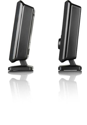 Speedlink Vento Aktiver-Lautsprecher (abnehmbarer Standfuss, 3,5mm-Anschluss, USB-Stromversorgung)
