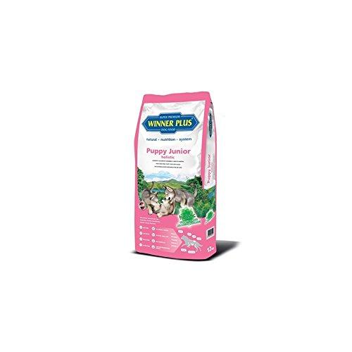 WINNER PLUS Puppy Junior holistic 2 kg - Alimento olistico, nutriente e completo: a base di anatra, salmone e patate