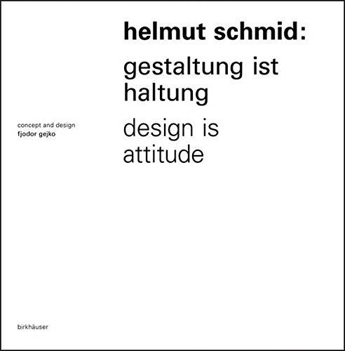 Helmut Schmid Design is Attitude (Paperback) par Masly